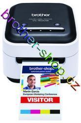 VC-500W barevná tiskárna štítků BROTHER VC500WZ1 ( CZ pásky do šířky 50mm) Kliknutím zobrazíte detail obrázku.